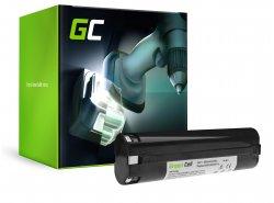 Batterie Green Cell (2Ah 9.6V) 191681-2 9000 9001 9002 9033 9600 pour Makita 4000 4190D 6000 6095D 6096D 6891D DA391D ML900