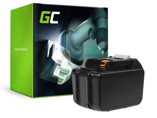 Green Cell ® Batterie BL1830 BL1860 pour Makita BDF450SFE BTL061RF BTW450RFE 7500mAh