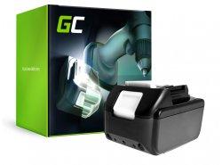 Batterie Green Cell (4Ah 18V) BL1815 BL1830 BL1830B BL1840 BL1840B BL1850 BL1850B pour Makita DTD152 DC18RC DDF451 DC18SD LXPH01