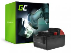 Green Cell ® Batterie 48-11-1830 pourvisseuse perceuse Milwaukee C18 M18 18V 4000mAh