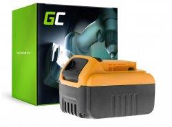 Batterie Green Cell (6Ah 18V) DCB180 DCB181 DCB182 DCB183 DCB184 DCB185 DCB200 XR pour DeWalt DCD776 DCF899P2 DCD796P2 DCF885