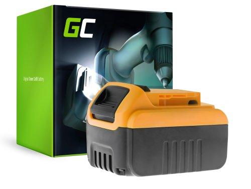 Green Cell® Batterie (6Ah 18V) DCB182 DCB184 DCB185 DCB200 XR pour DeWalt DCD740 DCD771C2 DCD780 DCD980 DCF885 DCS331 DCS381