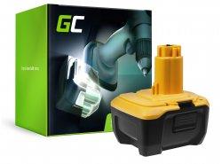 Green Cell® Batterie (3Ah 14.4V) DC9182 DE9140 DE9141 pour DeWalt DC528 DC732KL DC733C2 DC733KL DC735KA DC737KL DC757KA