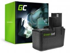 Batterie Green Cell (2Ah 9.6V) 2 607 335 144 2 610 910 400 BAT001 pour Bosch PDR PBM PSR GLI GSR 9.6 VE VE-2 VES2 Skil 3100