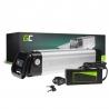 Green Cell® Batterie Vélo Electrique 24V 10.4Ah Silverfish E-Bike Li-Ion avec Chargeur