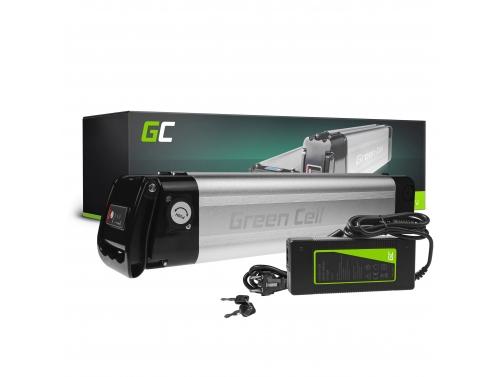Green Cell® Batterie Vélo Electrique 36V 8.8Ah Li-Ion Silverfish E-Bike avec Chargeur
