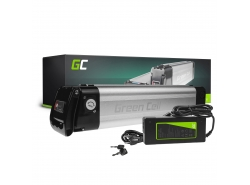 Green Cell® Batterie Vélo Electrique 24V 8.8Ah Li-Ion Silverfish E-Bike + Chargeur