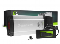 Accumulateur Batterie Green Cell Rear Rack 36V 8.8Ah 317Wh pour Vélo Électrique Pedalec