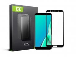 Green Cell PRO GC Clarity Verre Trempe pour Huawei Y6 2018 / Prime Ecran 3D Incurvés Bords Couverture Écran 9H