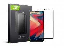 Green Cell PRO GC Clarity Verre Trempe pour OnePlus 6, Ecran 3D Incurvés Bords Couverture Écran 9H