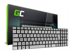 Green Cell ® Clavier pour ordinateur portable Asus N551 N551J N552 N552V Rétroéclairage AZERTY FR
