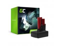 Batterie Green Cell (5Ah 12V) C12 M12 M12B2 M12B3 M12B4 M12B6 B9 REDLITHIUM pour Milwaukee BDD-202C BPD-0 BSD-0 C12HZ-0 C12MT-0