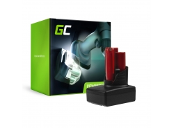 Green Cell ® Batterie C12 M12 B2 B3 B4 B6 RedLithium pour Milwaukee BPD-0 BDD-202C BSD-0 C12HZ-0 C12MT-0 M12FID M12CDD