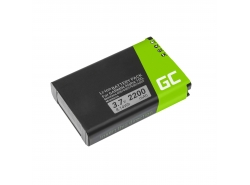Batterie Green Cell ® 010-10517-00 pour GPS Garmin EGM478 GPSMAP 276 276c 296 376 376c 378 396 478 495 496, Li-Ion 3400mAh 8.4V