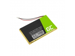 Batterie Green Cell IA2B309C4B32 pour GPS Garmin Nuvi 300 310 350 360 360T 370 Navgear Streetmate GP-43, Li-Polymer 1250mAh 3.7V