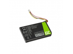 Batterie Green Cell ® 361-00056-01 pour Garmin Nuvi 53 53LMT 55 55LM 56 65 65LM 66 66LM, Li-Ion Cellules 1100mAh 3.7V