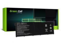 Green Cell Batterie AC14B13J AC14B13K AC14B18J pour Acer Aspire E 11 ES1-111M ES1-131 E 15 ES1-512 ES 15 ES1-533