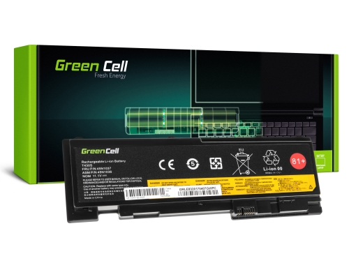 Green Cell Batterie 42T4845 45N1036 45N1037 pour Lenovo ThinkPad T420s T420si T430s T430si