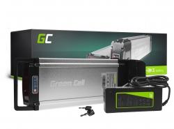 Accumulateur Batterie Green Cell Rear Rack 36V 11.6Ah 418Wh pour Vélo Électrique Pedalec