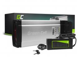 Green Cell® Batterie Vélo Electrique 36V 12Ah Li-Ion Rear Rack Ebike Batterie avec Chargeur