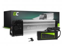 Accumulateur Batterie Green Cell Silverfish 36V 11Ah 396Wh pour Vélo Électrique Pedalec