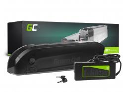 Accumulateur Batterie Green Cell Down Tube 36V 11.6Ah 418Wh pour Vélo Électrique Pedalec