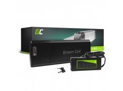 Accumulateur Batterie Green Cell Rear Rack 24V 13Ah 312Wh pour Vélo Électrique Pedalec