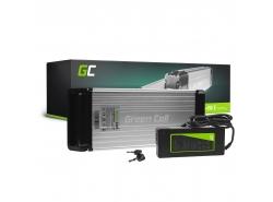 Green Cell® Batterie Vélo Electrique 36V 15Ah Li-Ion Rear Rack E-Bike Batterie avec Chargeur