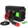 Green Cell® Convertisseur de tension DC 12V à AC 230V 300W/600W Pur sinus