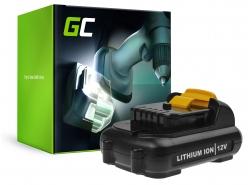 Green Cell ® Batterie DCB180 pour visseuse perceuse Dewalt DCD740 DCD780 DCD980 DCF620 DCF880 DCN660 DCS350 DCS380