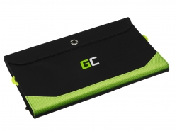 Chargeur, panneau solaire GC SolarCharge 21W Green Cell avec fonction de banque de puissance 6400mAh