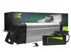 Accumulateur Batterie Green Cell Silverfish 24V 11.6Ah 278Wh pour Vélo Électrique Pedalec