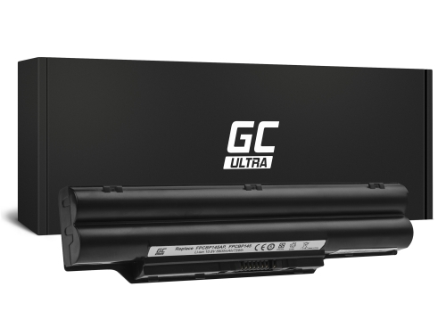 Green Cell ULTRA Batterie FPCBP145 pour Fujitsu-Siemens LifeBook E751 E752 E782 P771 P772 T580 S710 S751 S752 S760 S762 S782