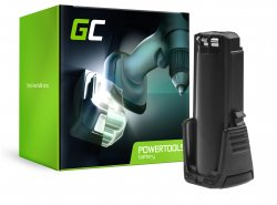 Green Cell® Batterie (2Ah 3.6V) 2607336241 BAT504 pour Bosch GSR GBA 3.6 PRODRIVE Mx2Drive
