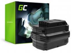 Batterie (3Ah 24V) DE0240 DE0241 DE0243 Green Cell pour DeWalt DC222KA DC223KA DC224KA DW006 DW008 DW017