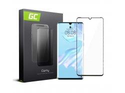 Verre Trempe pour Huawei P30 Pro edge glue Protection Ecran GC Clarity Ecran 3D Film Protecteur Écran Compatible
