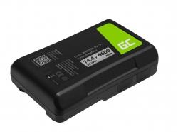 Batterie Green Cell V-Mount pour Sony BP-95W 6600mAh 95Wh 14,4V