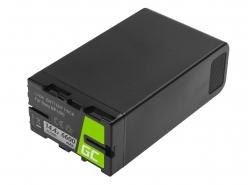 Batterie Green Cell BP-U90 BP-U60 BP-U30 pour Sony 6600mAh 95Wh 14.4V