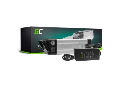 Green Cell® Batterie Vélo Electrique 36V 8.8Ah Li-Ion Silverfish E-Bike Batterie + Chargeur