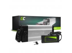 Accumulateur Batterie Green Cell Silverfish 48V 11Ah 528Wh pour Vélo Électrique Pedalec