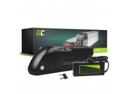 Accumulateur Batterie Green Cell Down Tube 36V 13Ah 468Wh pour Vélo Électrique Pedalec