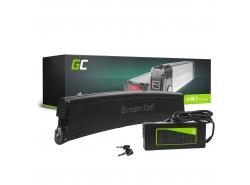 Accumulateur Batterie Green Cell Frame Battery 36V 7.8Ah 281Wh pour Vélo Électrique Pedalec