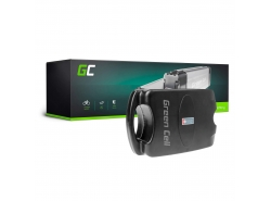 Green Cell® Batterie Vélo Electrique 36V 12Ah E-Bike Li-Ion Frog Type avec Chargeur