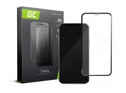 Green Cell PRO GC Clarity Verre Trempe pour iPhone 11 Pro Écran Tempered Glass, Ecran 3D Incurvés Bords Couverture Écran 9H