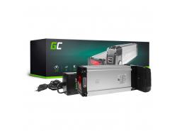 Green Cell ULTRA® Batterie Vélo Electrique 36V 21Ah E-Bike Li-Ion Rear Rack Cellules Samsung + Chargeur