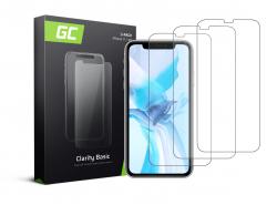 3x Verre Trempe pour iPhone 11 / iPhone XR Protection Ecran GC Clarity Ecran 3D Film Protecteur