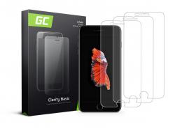 3x Verre Trempe pour iPhone 6 Plus / 6S Plus / 7 Plus / 8 Plus Protection Ecran GC Clarity Ecran 3D Film Protecteur