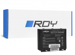 RDY Batterie A32-F82 A32-F52 pour Asus K40 K40iJ K50 K50AB K50C K50I K50ID K50IJ K50iN K50iP K51 K51AC K70 K70IJ K70IO