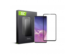 Green Cell PRO GC Clarity Verre Trempe pour Samsung Galaxy S10 Plus, Écran Tempered Glass, Ecran 3D Incurvés Bords Couverture Éc