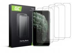 4x Verre trempé GC Clarity pour le téléphone Apple iPhone X / XS / 11 Pro